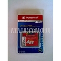 Флеш-карта памяти Compact Flash Transcend на 4 Гб (133x)