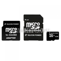 Flash memory card MicroSDHC Silicon Power �� 16 �� (2 ��������)