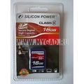 �������� USB-������ SDHC Silicon Power �� 16 gb