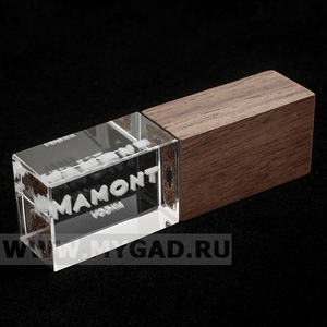 Флешка MG17CRISTAL_WOOD.R.64gb